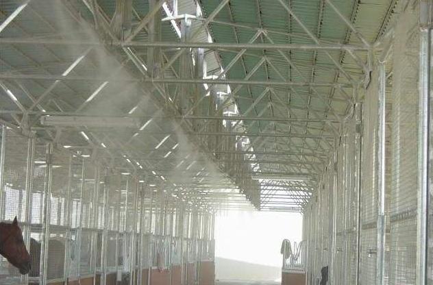 温宿县厂房除尘喷淋系统智能控制