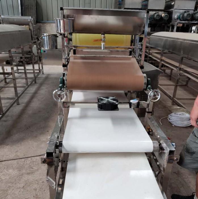 怒江凉皮机合肥全自动凉皮机小型家用粉皮机一台也是批发价