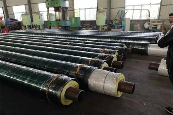 黑皮子保温钢管生产厂家西平县