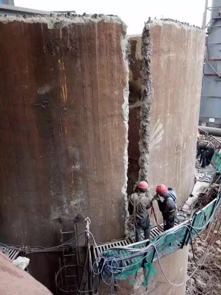 2021革吉烟囱拆除公司革吉高空拆除公司