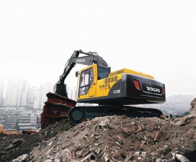 陇南沃尔沃480挖掘机价格-厂家客户至上