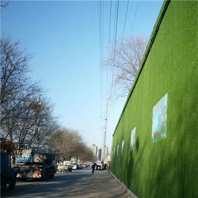 广水3米高围挡草坪