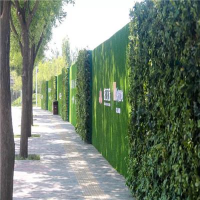 登封围墙用人造草坪