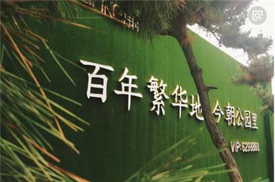 (珠海)绿皮围挡草坪