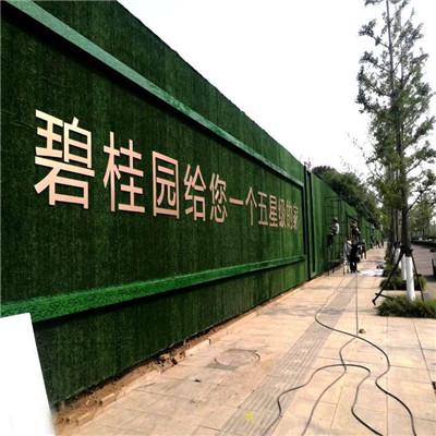 扬州外墙围挡草皮