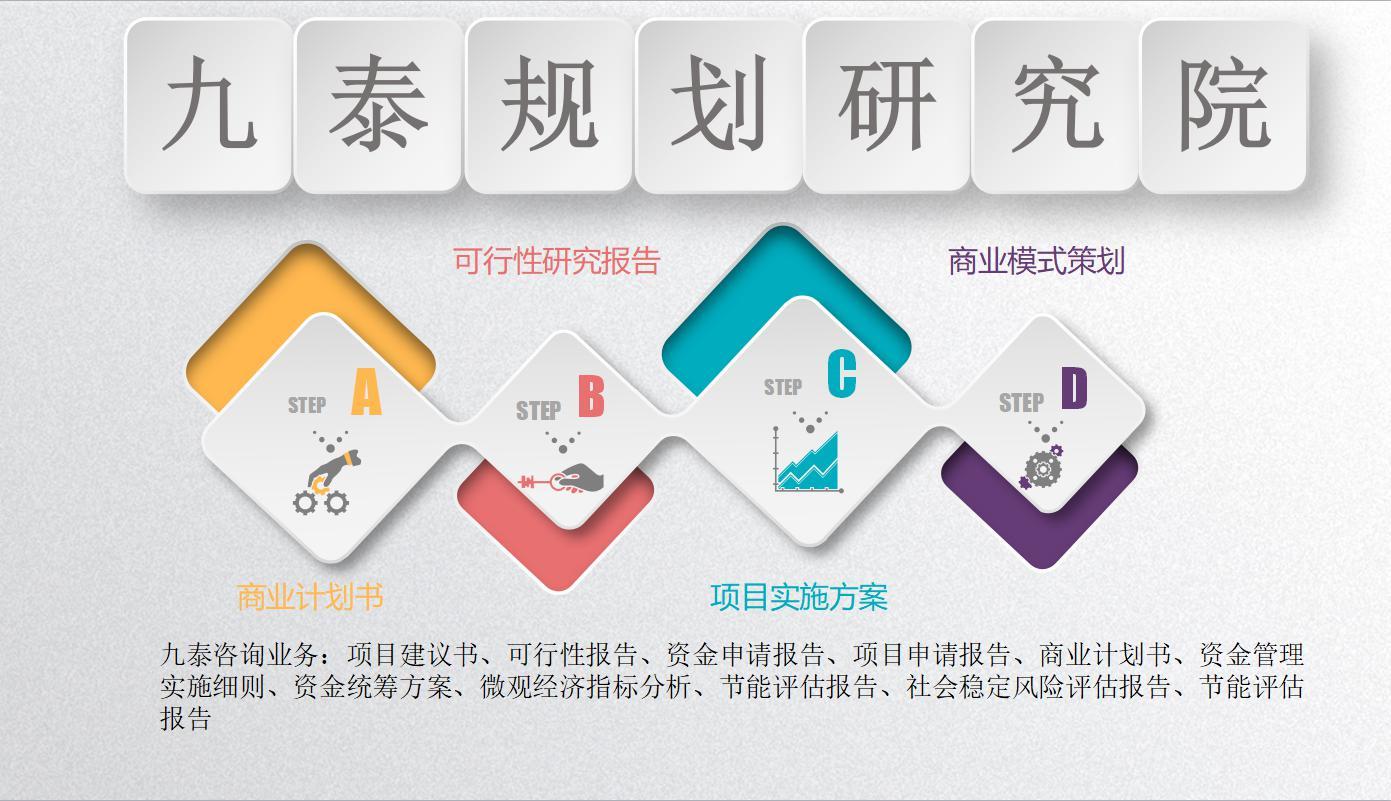 三明市编写可研报告公司(物流集散中心)各行业