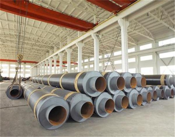 钢套钢复合蒸汽保温管厂家现货和林格尔