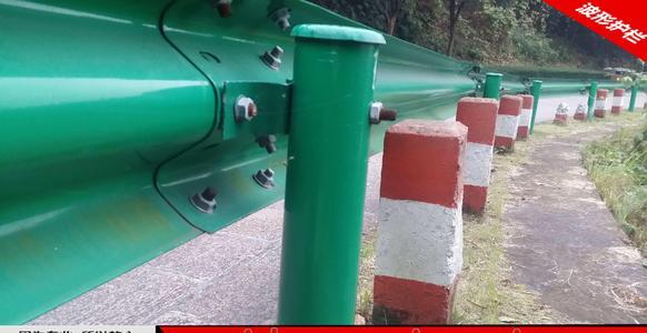 中山市板芙镇2021乡村公路护栏板-喷塑护栏