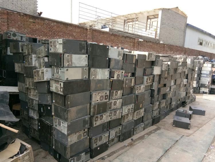 2021-大鹏新区办公设备回收现场