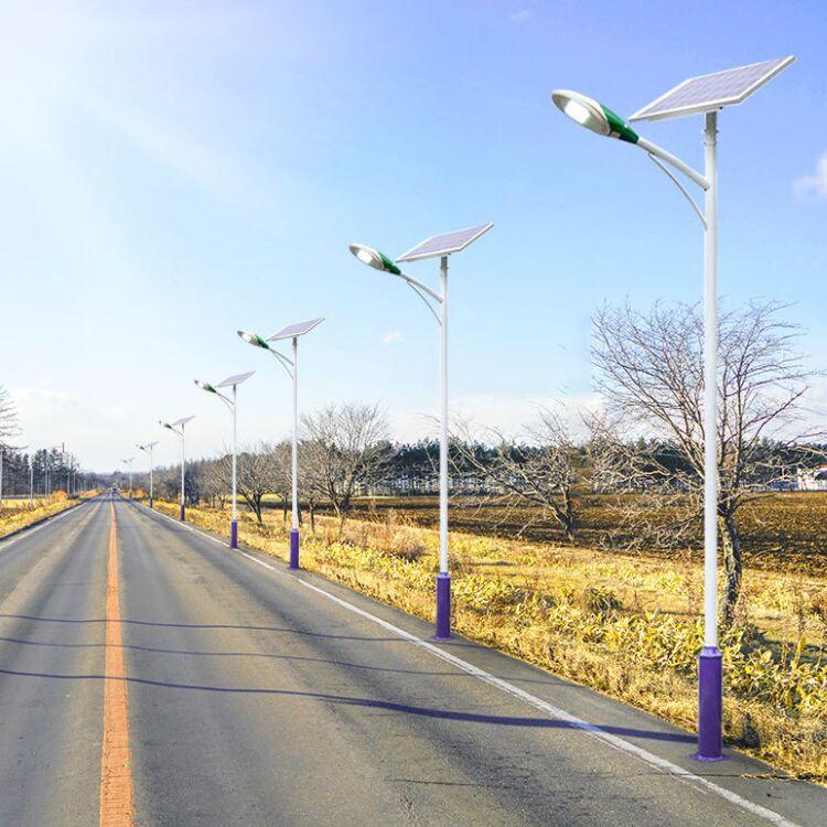 怀柔农村太阳能路灯5米6米杆批发价位