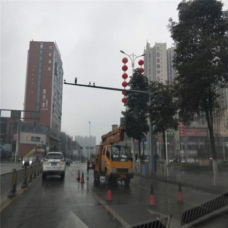 巴中市南江县公园室外监控杆 室外杆件指导专家