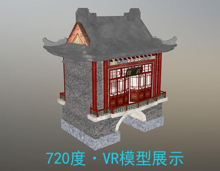 清河门3D环物/720°环物展示/来图定制详细解读