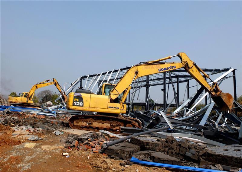 拆除公司-中山市三角镇电子厂整厂设备拆除回收-安全放心