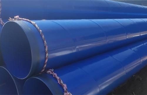 贵南环氧煤沥青防腐钢管排水排污管线柯坪县