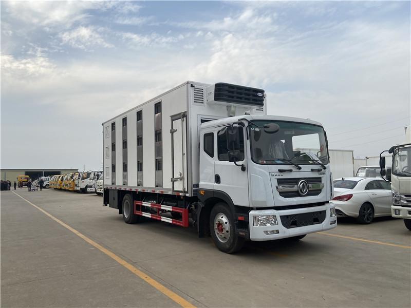 漳州漳浦福田欧曼新能源活体动物畜禽运输车