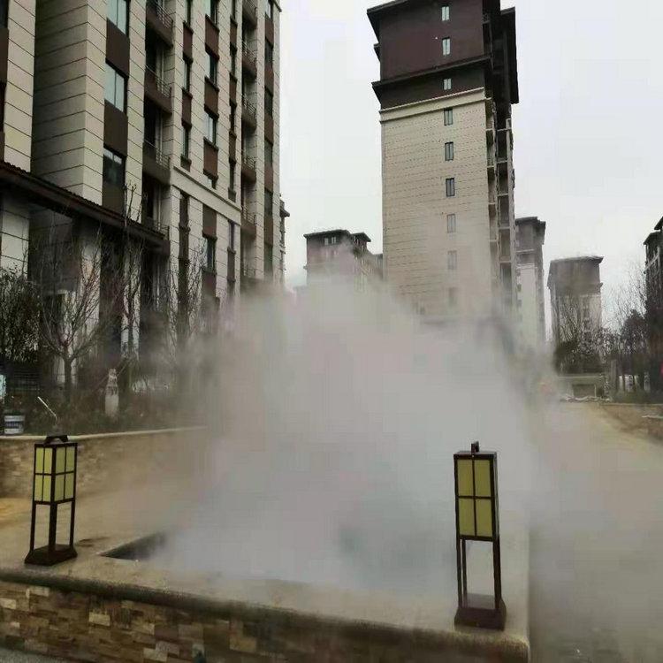 滁州假山冷雾系统安装