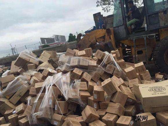 东莞长安镇过期冻肉销毁回收