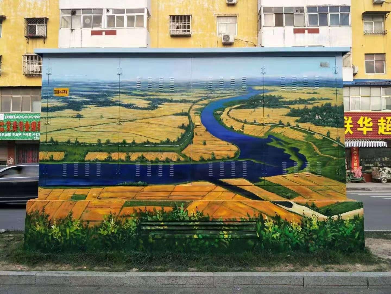 贵阳学校陶瓷画瓷板画瓷砖背景墙画施工